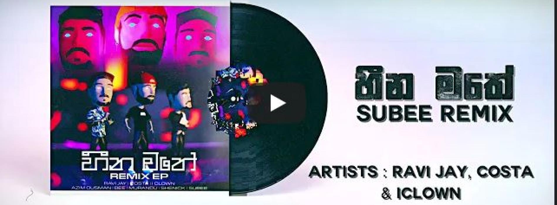 New Music : Heena Mathe (Subee Remix) – Costa ,Ravi Jay & Iclown