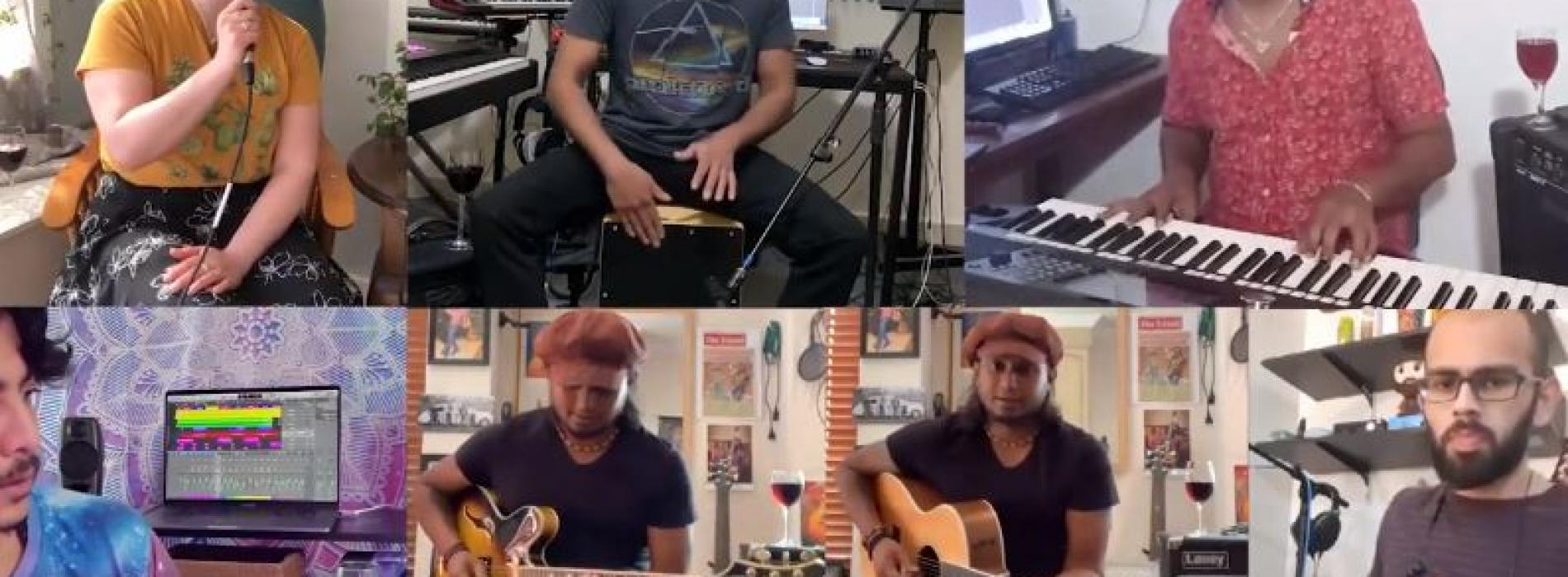 New Music : Summer Wine Cover by Buddhi, Rose, Nisha, Nisala, Nuwan & Sashank