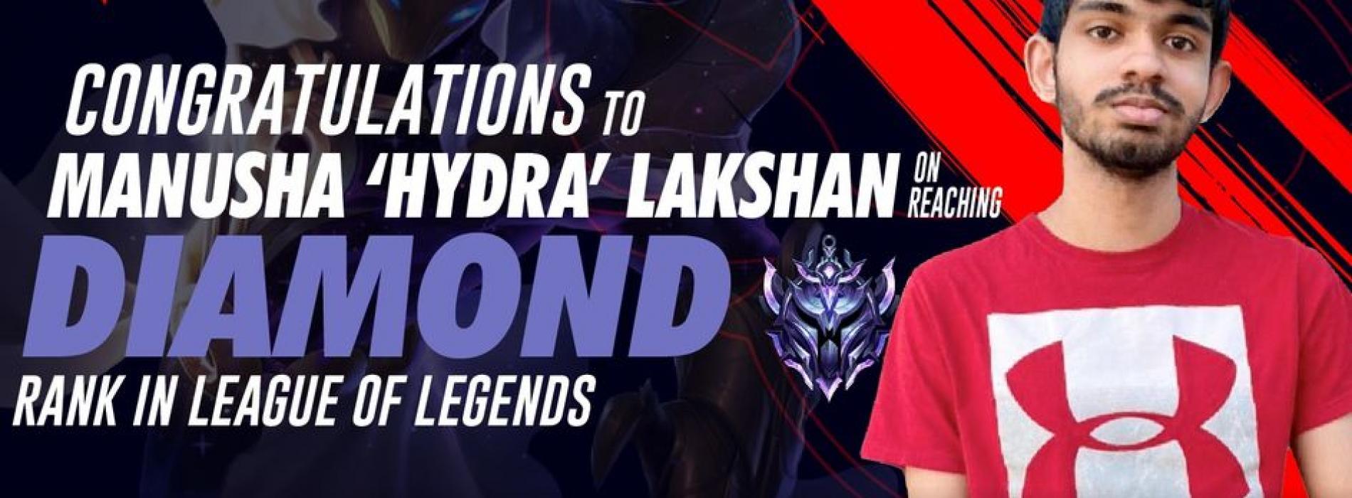 Phoenix GaminG's Hydra Hits Diamond For The Third Consecutive Season!