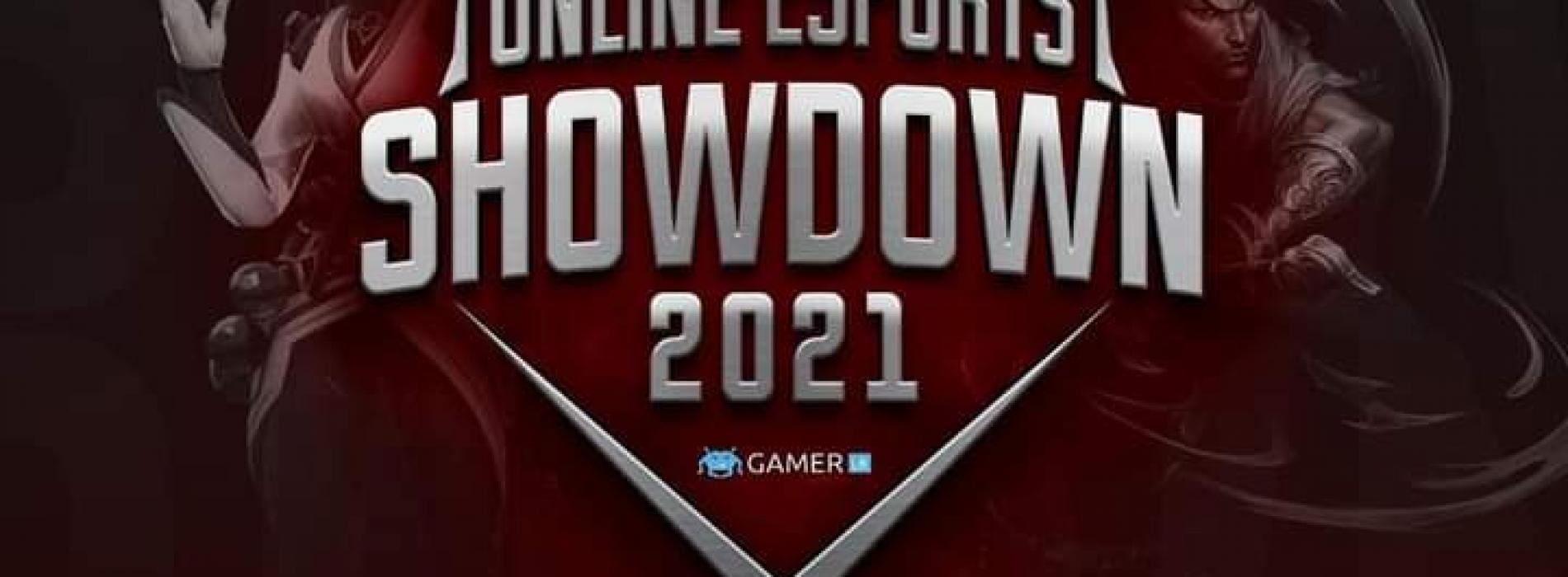 "3000+ Participants for the ""Online eSports Showdown 2021"""