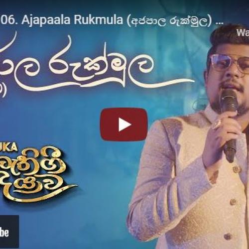 New Music : SANUKA – 06 Ajapaala Rukmula (අජපාල රුක්මුල) ? බුදුවීම | Bathi Gee Dayawa