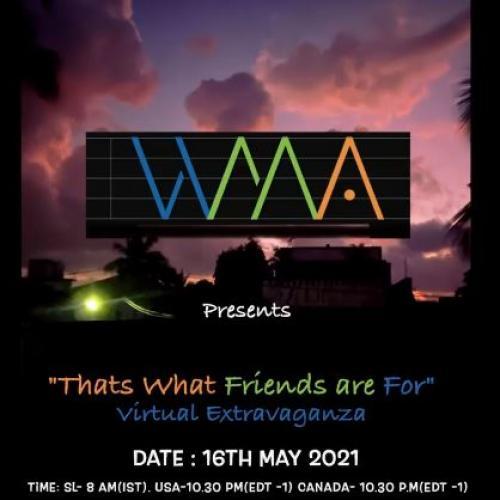 News : WMA Has A Fundraising Online Concert