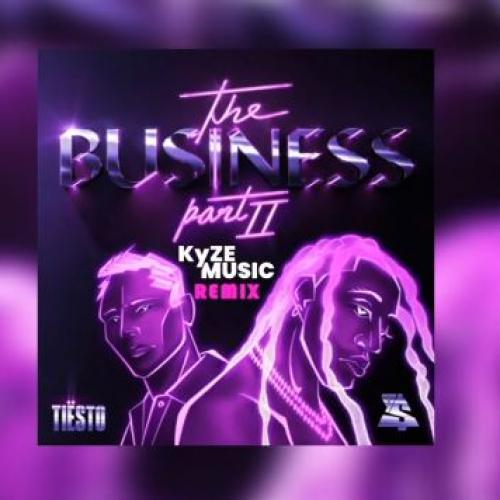 New Music : The Business – Tiesto Ft Tyga (KyzeMusic Remix)