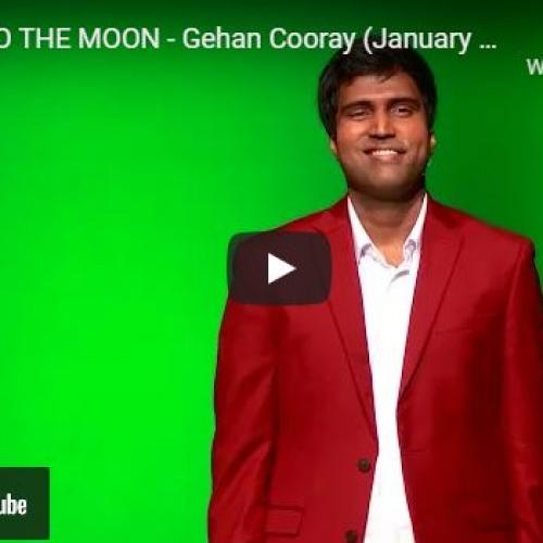 New Music : Fly Me To The Moon – Gehan Cooray (January 2020)