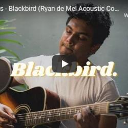 New Music : The Beatles – Blackbird (Ryan De Mel Acoustic Cover) | The Classic Series Ep: 2